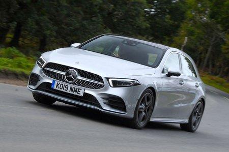 Mercedes A-Class front - 19 plate