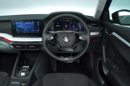 2020 Skoda Octavia Estate dashboard