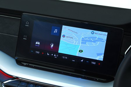 2020 Skoda Octavia Estate infotainment touchscreen