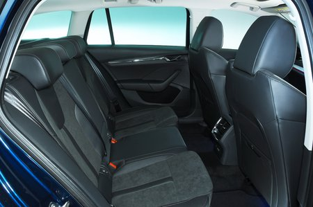 2020 Skoda Octavia Estate rear seats
