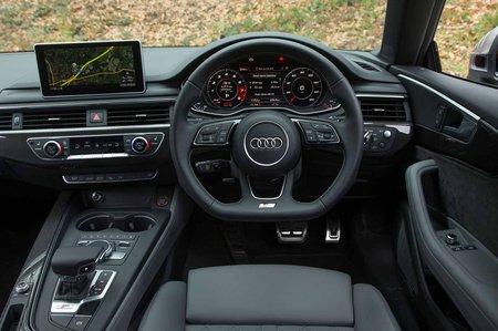 Audi A5 Coupe RHD dashboard