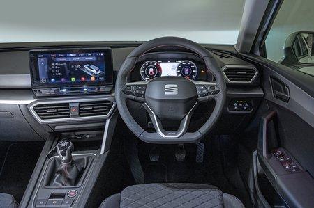 Seat Leon 2020 RHD dashboard