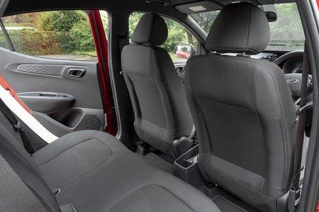 Hyundai i10 2020 rear seats