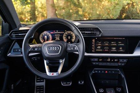 Audi A3 Saloon 2020 dashboard