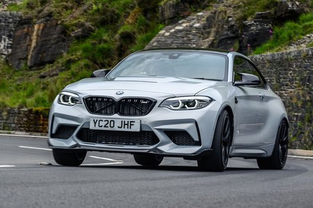 BMW M2 CS 2020 front tracking