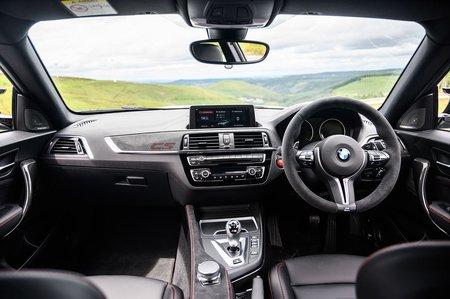 BMW M2 CS 2020 RHD dashboard