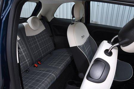 Fiat 500 2020 RHD rear seats