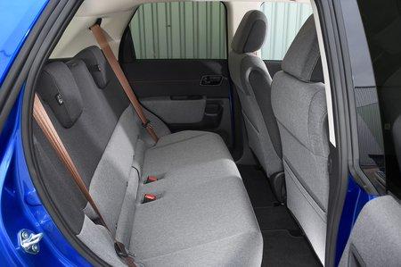 Honda E 2020 RHD rear seats