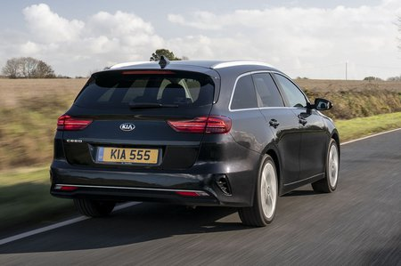 Kia Ceed Sportswagon 2020 rear tracking