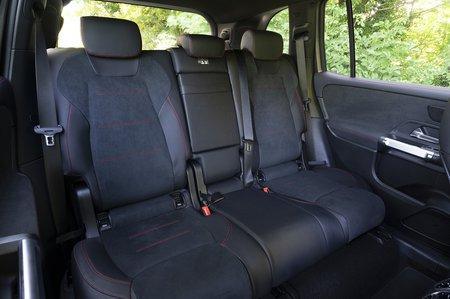 Mercedes GLB 2020 RHD rear seats