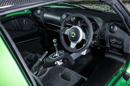 Lotus Exige 2020 RHD dashboard