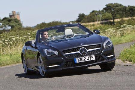 Mercedes SL front corner 2012-present