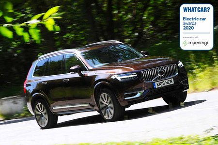 Electric Car Awards - Volvo XC90 Recharge T8