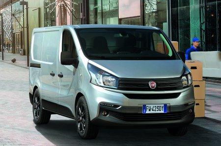 Fiat Talento parked