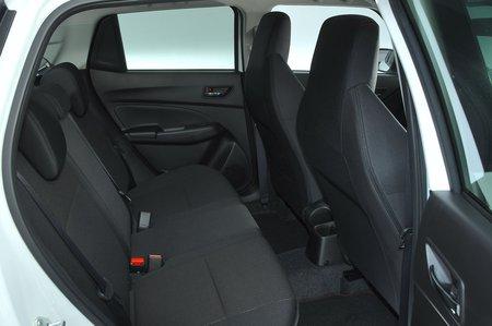 Suzuki Swift Sport 2020 rear seats