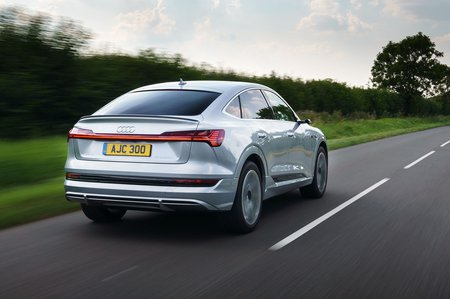 Audi E-tron Sportback 2020 rear tracking