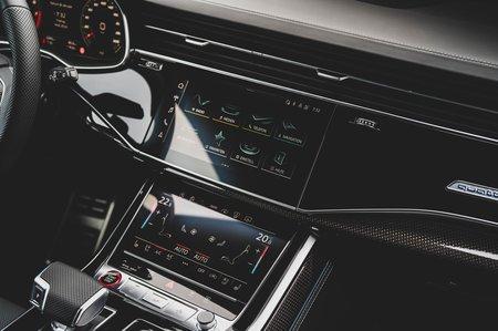 Audi SQ7 2020 infotainment
