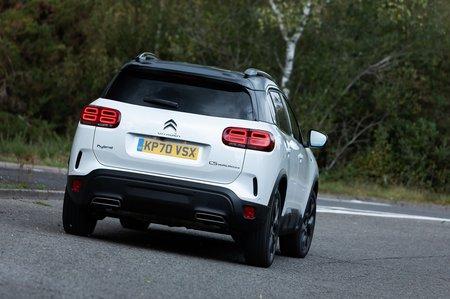 Citroën C5 Aircross 2020 rear cornering