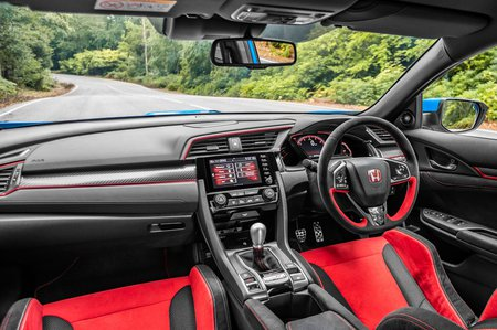 Honda Civic Type R 2020 dashboard