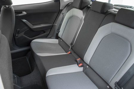 Seat Ibiza 2020 rear seats