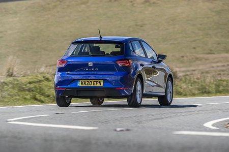 Seat Ibiza 2020 rear cornering