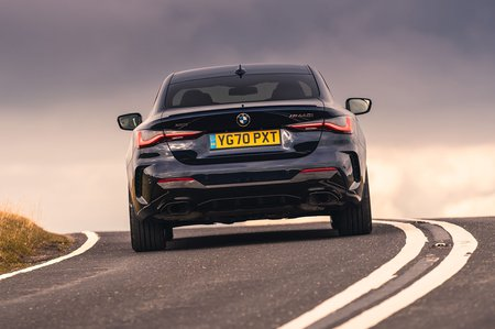 BMW 4 Series Coupé 2020 rear tracking