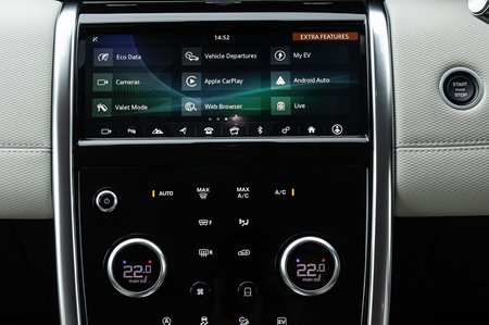 Land Rover Discovery Sport 2020 infotainment