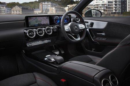 Mercedes A-Class Saloon 2020 dashboard