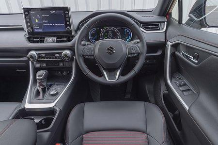 Suzuki Across PHEV 2020 dashboard