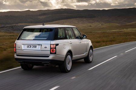 Range Rover 2020 rear tracking