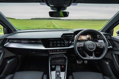 Audi S3 2020 RHD dashboard