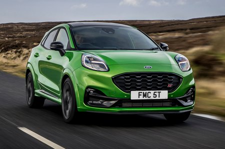 Ford Puma ST 2021 front tracking