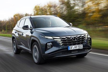 Hyundai Tucson 2021 front