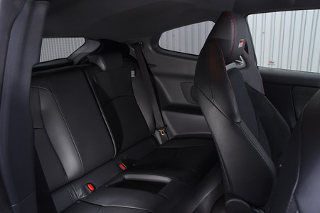 Toyota GR Yaris 2020 rear seats