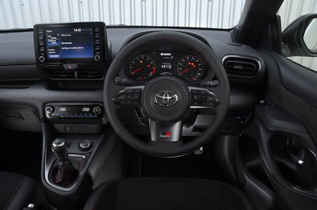Toyota GR Yaris 2020 RHD dashboard