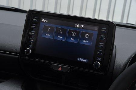 Toyota GR Yaris 2020 infotainment