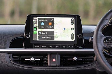 Kia Picanto 2021 Infotainment screen