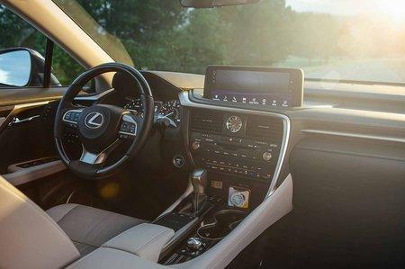 Lexus RX L LHD 2019 dashboard