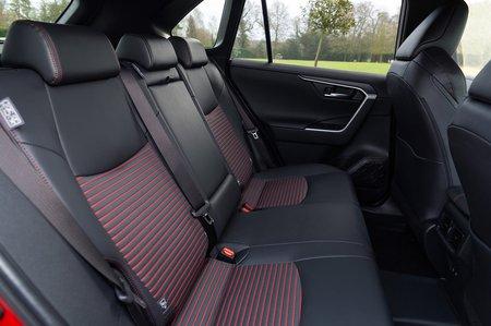 Toyota RAV4 PHEV 2021 rear seats
