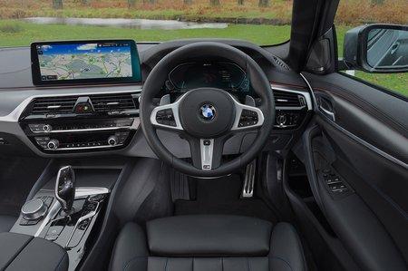 BMW 5 Series 2021 RHD dashboard