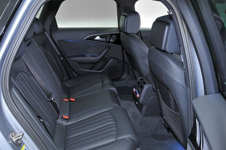 Audi A6 2011-2018 rear seats