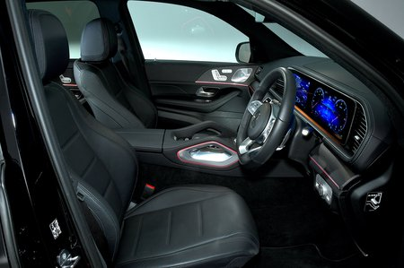 Mercedes GLE front seats