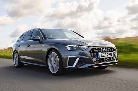 2019 Audi A4 Avant RHD front three-quarter tracking