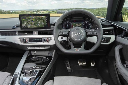 2019 Audi A4 Avant RHD dashboard