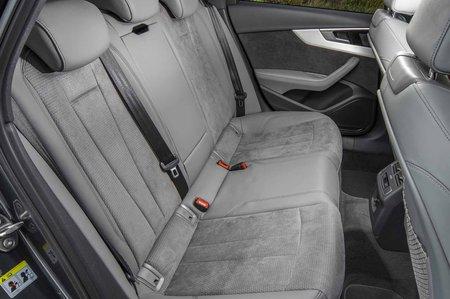 2019 RHD Audi A4 Avant rear seats