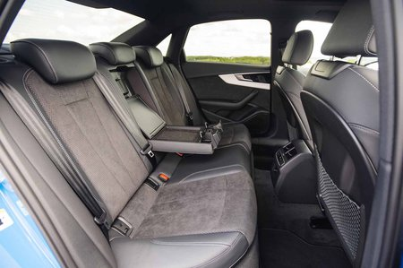 Audi A4 2019 RHD rear seats