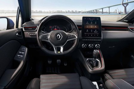 Renault Clio 2019 LHD launch car dashboard