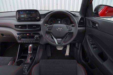 Hyundai Tucson N Line 2019 RHD dashboard