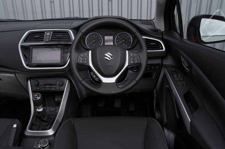 Suzuki SX4 S-Cross 2019 RHD dashboard