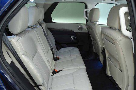 Land Rover Discovery RHD rear seats